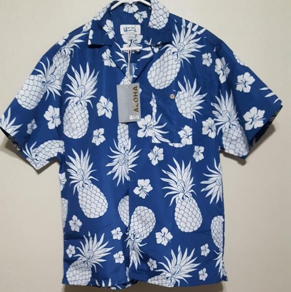 22691fd6b Uzzi Shirts | Aloha Mens Pineapple Shirt | Poshmark